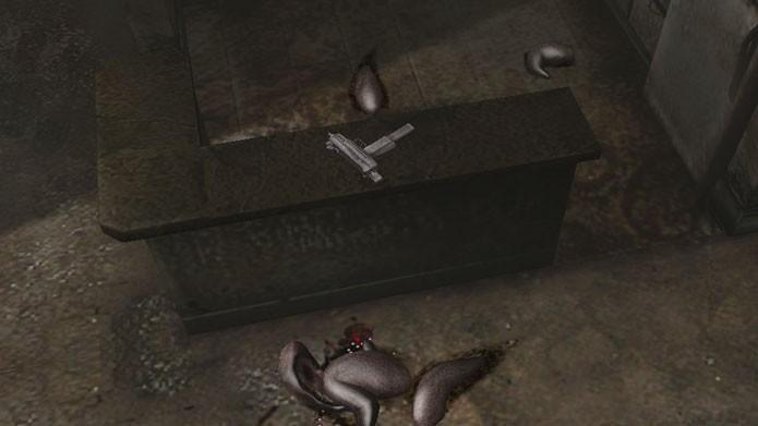 Pegue a Submachine Gun no apartamento 120, em cima do balcão da cozinha (Foto: Reprodução/Silent Hill Wikia)