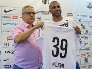 Dagoberto Santos, Nilson, Santos (Foto: João Paulo Castro)