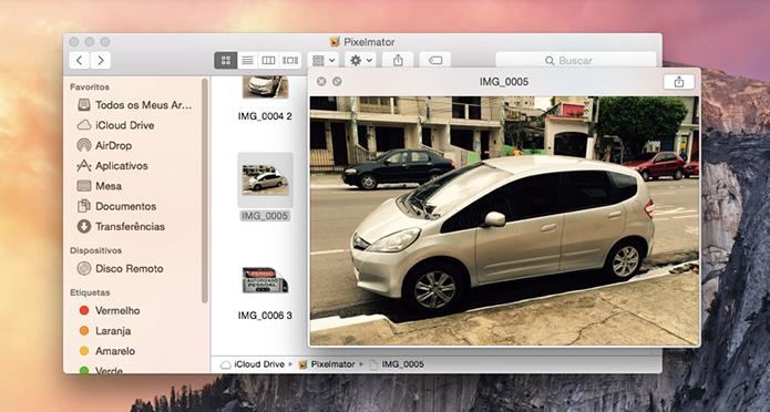 Selecione e tecle Espaço para pré-visualizar arquivos em qualquer lugar (Foto: Reprodução/Paulo Alves)