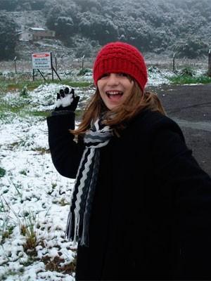 Menina de 11 anos morta no RS Ana Clara (Foto: Reprodução)