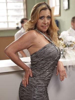 Rita Cadilac em cena (Foto: Amor à Vida/TV Globo)