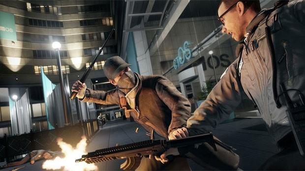 'Watch Dogs' tem bons confrontos e ação (Foto: Divulgação/Ubisoft)