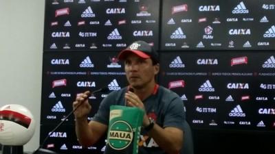 Técnico Zé Ricardo Flamengo (Foto: Matheus Palmieri / GloboEsporte.com)