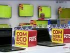 Comércio faz promoção de olho do dinheiro sacado do FGTS