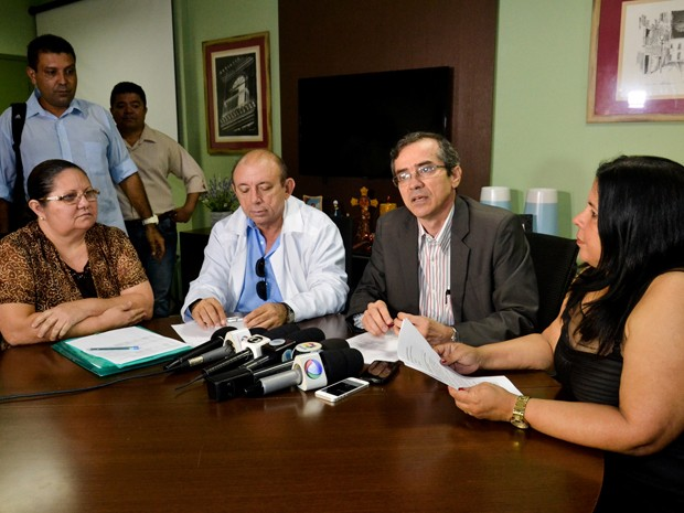 Secretário de Saúde, Marcos Pacheco, descartou surto de microcefalia no Maranhão (Foto: Karlos Geromy / Agência Secom)