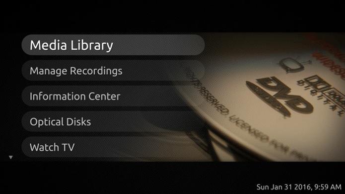 Mythbuntu é uma versão do sistema da Canonical para rodar em HTPCs (Foto: Divulgação/Mythbuntu)