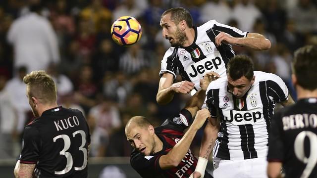Juventus x Milan - Supercopa da Itália 2016-2016 - globoesporte.com d3524d7d63627