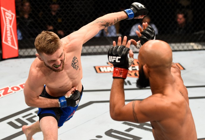 Demetrious Johnson Tim Elliott TUF 24 Finale (Foto: Getty Images)