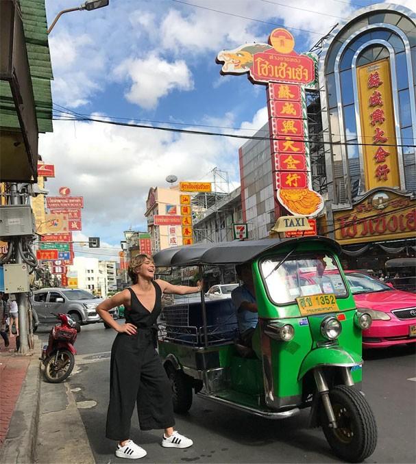 Isabella Santoni em viagem à Tailândia (Foto: Reprodução/Instagram)
