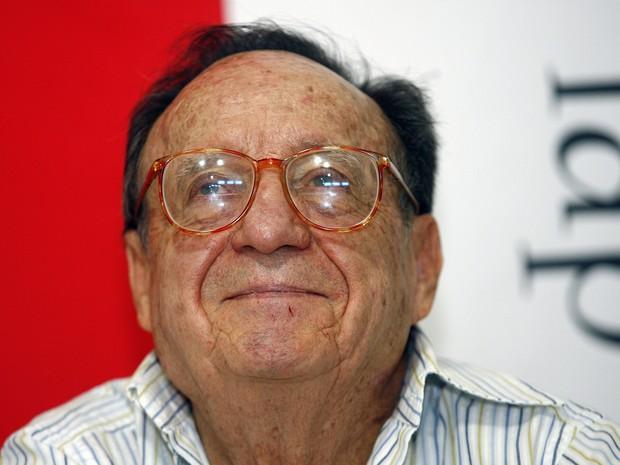 Roberto Gomes Bolaños, o criador dos seriados Chaves e Chapolin (Foto: Francisco Vega/AFP)