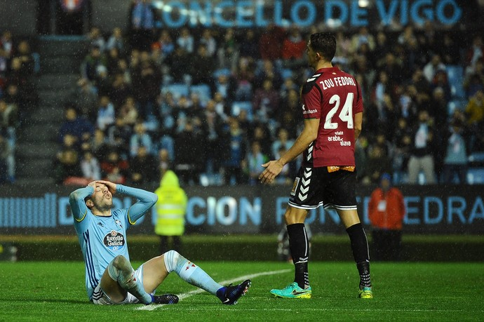 Iago Aspas, Celta x Alavés (Foto: Octavio Passos/Getty Images)
