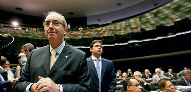 """COMISSÃO DE FRENTE O deputado Eduardo Cunha (PMDB-RJ). Ele  é o """"abre-alas""""  do Blocão (Foto: Pedro Ladeira/Folhapress)"""