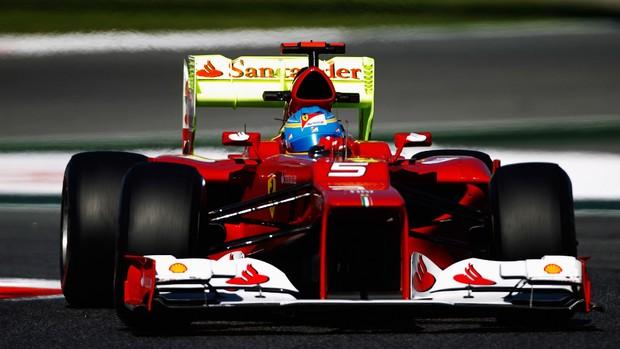 Fernando Alonso, treino GP Espanha (Foto: AP)