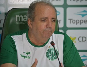 Vadão, apresentação Guarani (Foto: João Marcos Carneiro/GloboEsporte.com)