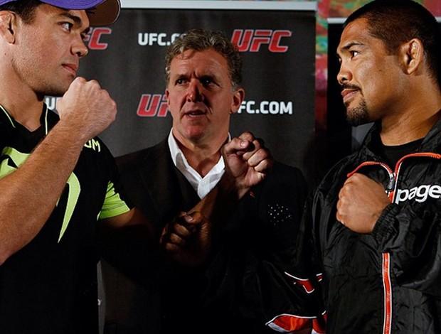 Lyoto Machida x Mark Munoz UFC (Foto: Reprodução / Instagram)