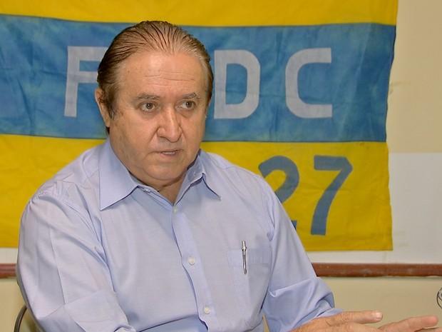 PSDC oficializa Elizeu Amarilha como candidato a prefeito da capital de MS (Foto: Reprodução/TV Morena)