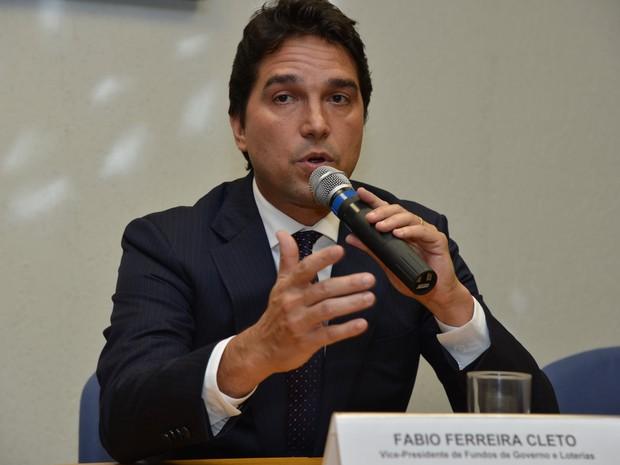 Fábio Ferreira Cleto, vice-presidente da Caixa (Foto: Valter Campanato/Agência Brasil)
