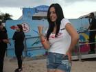 Larissa Riquelme após fotos cheinha: 'Estou muito feliz com meu corpo'