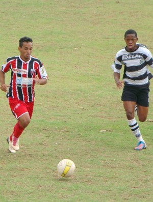 Baratella marca o gol da vitória botafoguense na estreia da equipe nos Jogos Abertos (Foto: Divulgação / Botafogo FC)