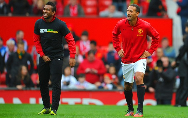 Anderson Rio Ferdinand Manchester United (Foto: Getty Images)