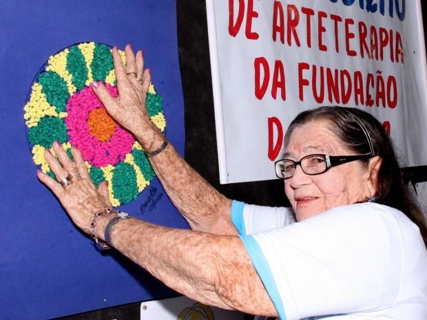Obras de idosos serão exibidas em exposição em Manaus (Foto: Divulgação/Fundação Doutor Thomas)