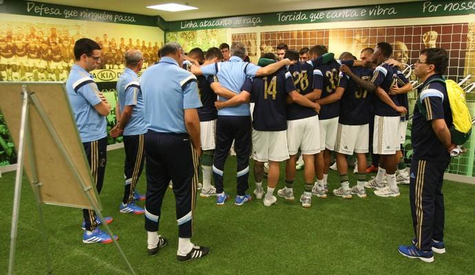 Treino Palmeiras Dorival Júnior (Foto: Cesar Greco/Ag Palmeiras/Divulgação)