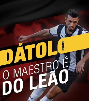 dátolo (Foto: EC Vitória / Divulgação)
