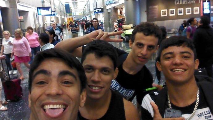 Equipe Nova União Jiu-Jitsu Califórnia (Foto: Romualdo Lucas / Arquivo pessoal)