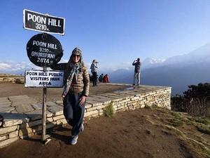 Amália Lucy terremoto Nepal 2 (Foto: Amália Lucy Querino/Arquivo Pessoal)