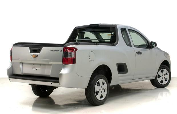 Chevrolet Montana 2014  (Foto: Divulgação)