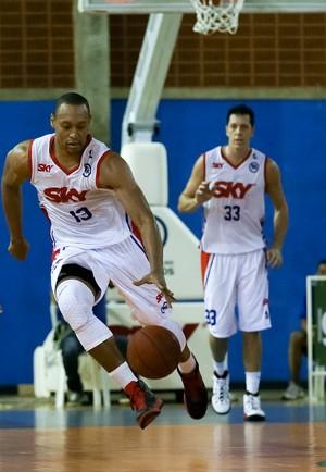 Pinheiros X Palmeiras - basquete (Foto: Ricardo Bufolin/CBG)