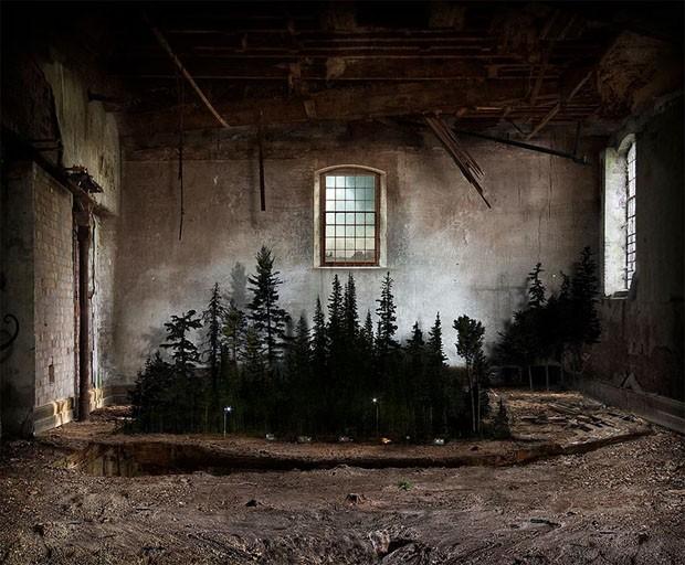 Artista utiliza técnica secular para criar paisagens mágicas (Foto: Divulgação)