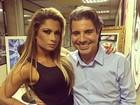 Dani Sperle fala sobre relação com João Kléber: 'Beijo maravilhoso'