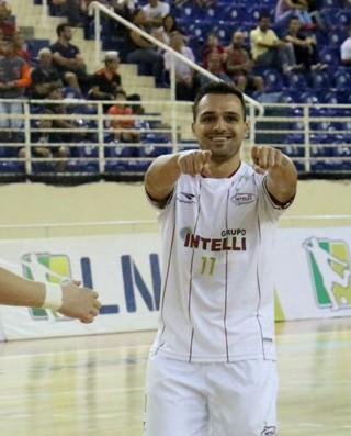 Orlândia x Tubarão (Foto: Luan Amaral/Orlândia Futsal)