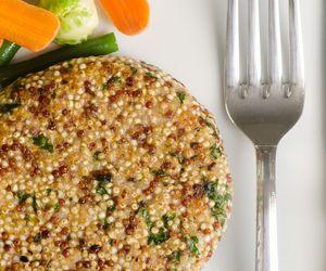 Como fazer hambúrguer de quinoa