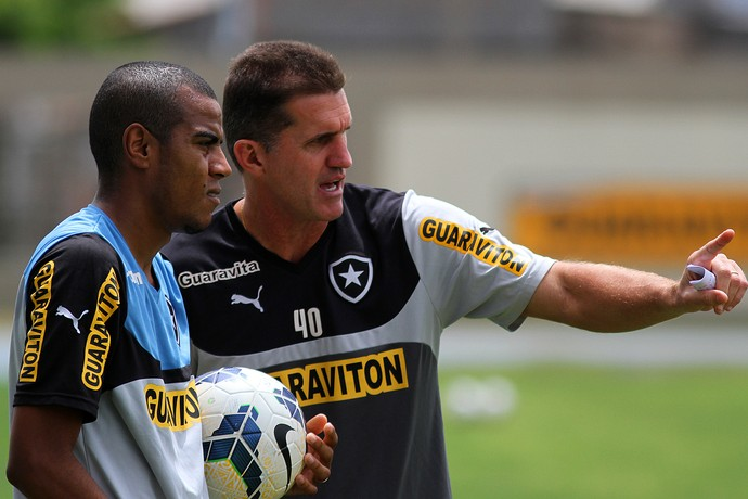 Vagner Mancini Regis Botafogo (Foto: Vitor Silva / SSPress)