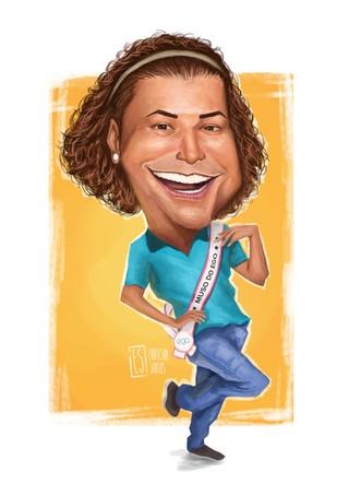 David Brazil (Foto: Ilustração: Enderson Santos / Ego)