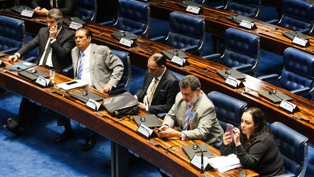 Senado realiza a primeira sessão de debate do projeto (PLS 280/2016) que define os crimes de abuso de autoridade (Foto: Antonio Cruz/Agência Brasil)
