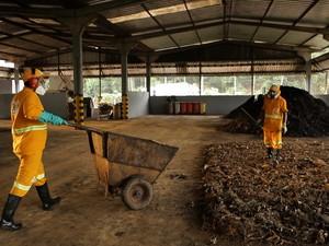 Vale e o tratamento de resíduos no núcleo urbano de Carajás. (Foto: Will Etchebehere)