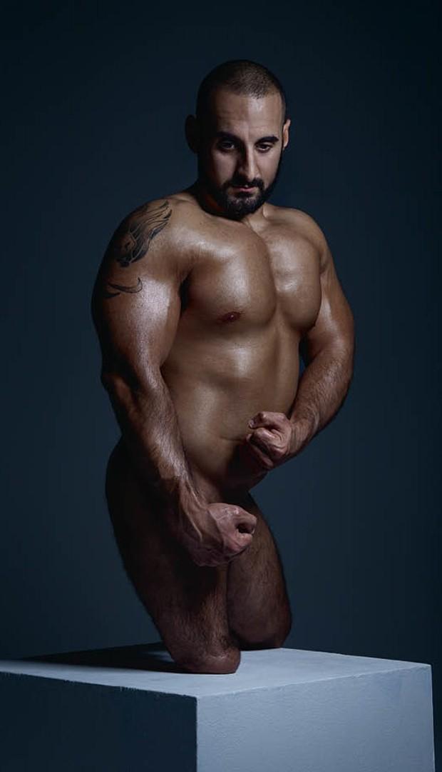 Ali Jawad, arremesso de peso  (Foto: Sport Magazine/Reprodução)