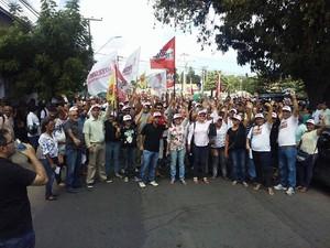 Agentes de saúde e de endemias de Fortaleza aprovam estado de greve (Foto: Sindifort)