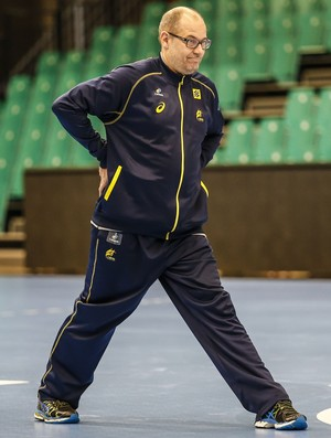 Morten Soubak, técnico da seleção brasileira de handebol (Foto: Wander Roberto/Photo&Grafia)