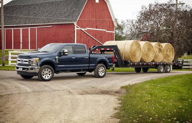 Ford lança nova Série F Super Duty nos EUA (Foto: Divulgação)