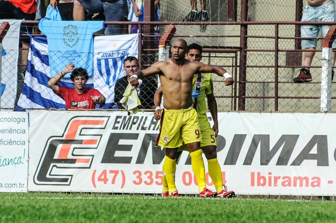 Brasão Atlético-IB x Avaí (Foto: Eduardo Santos/APP/Folhapress)