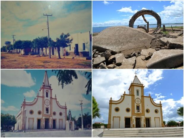 Cidade de Jaguaribara (Foto: Reprodução)