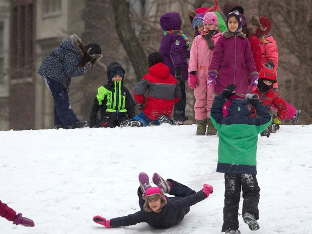 EUA nevasca (Foto: Reuters)