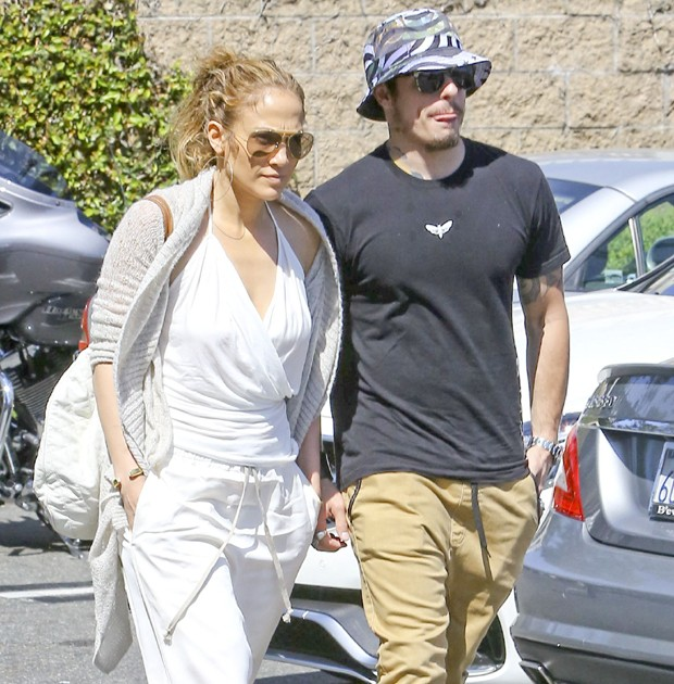Jennifer Lopez e Casper Smart (Foto: Grosby Group)