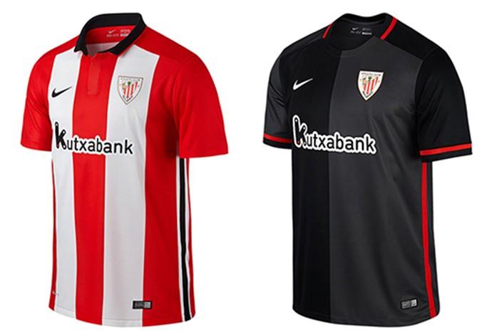 As camisas do Espanhol 2015 2016  Barça muda listras 642d6c8176ca6