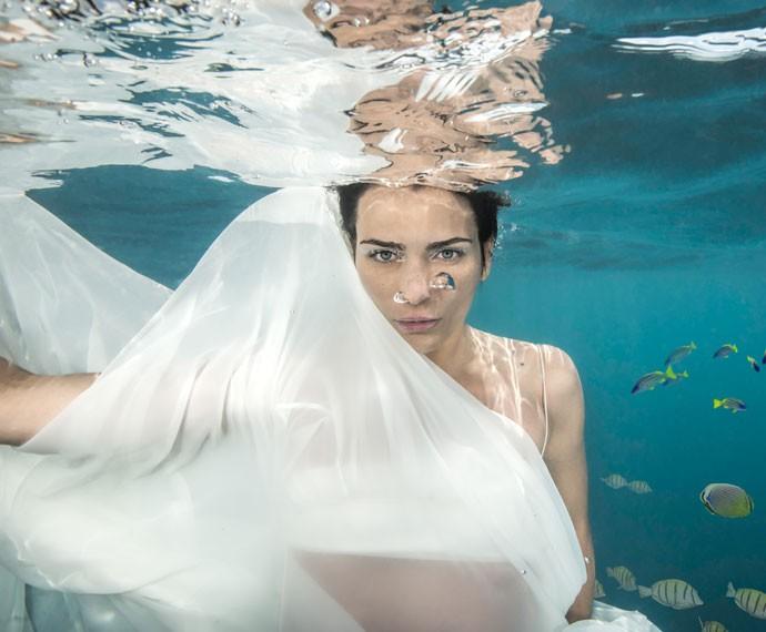 Na trama, Fernanda Motta interpreta a modelo Daniele (Foto: Christian Miller)