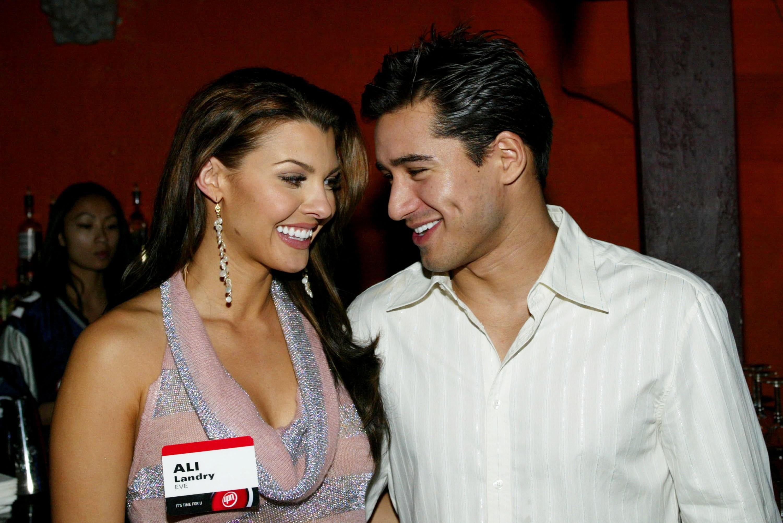 Ali Landry e Mario Lopez (Foto: Getty Images)